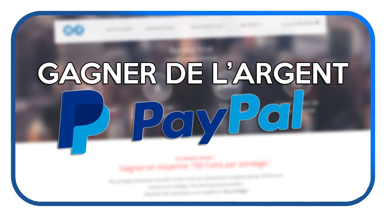gagner argent paypal